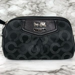 COACH  Black Cosmetic Bag
